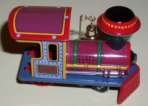 Hallmark train Yuletide Central collector ornament
