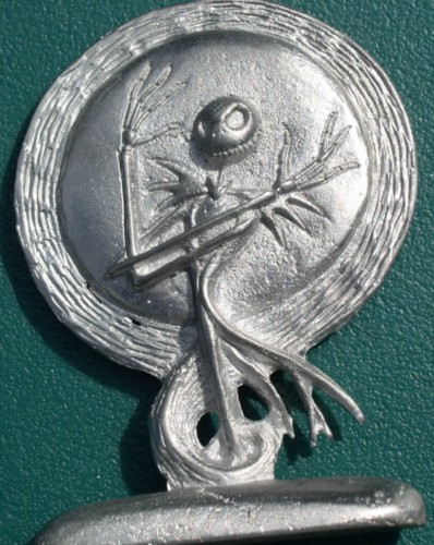 Nightmare Before Christmas Jack pewter plaque