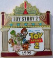 Disney Toy Story 2 Films #3 Japan 10th Anniv pin/pins