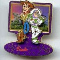 Disney Toy Story Buzz and Woody share magic pin/pins