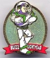 Disney Toy Story Buzz Lightyear Glitter UK Pin/Pins