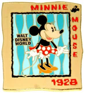 Disney WDW - On With The Show Minnie Event  Pin/Pins