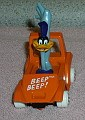 Looney Tunes Road Runner driving WB Die Cast Metal