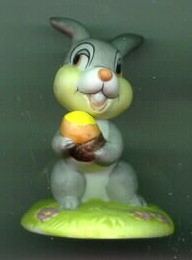 Disney Thumper from Bambi  Porcelain  Bisque Miniature