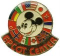Disney Epcot Center - Mickey & Country Flags pin/pins