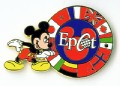 Disney Epcot Circle of Flags pin/pins