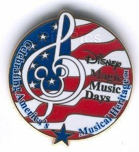Disney Magic Music Days gift never sold  pin/pins