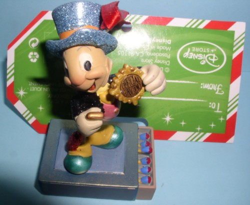 Disney Jiminy Cricket Official Conscience match book