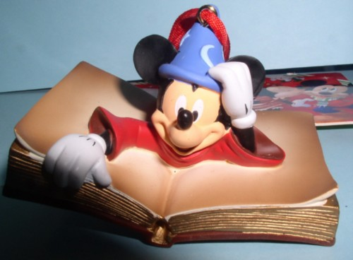 Disney  Mickey Mouse Sorcerer Fantasia  Ornament
