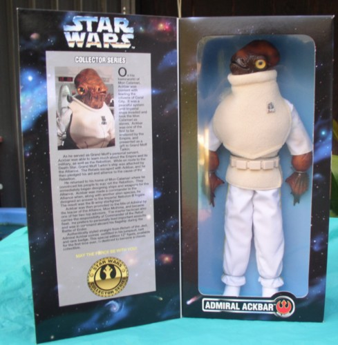 Star Wars Admiral Ackbar Rebel Alliance collector Doll