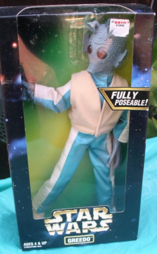 Star Wars Greedo Action Collection 1997 Kenner  Doll