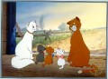 Disney Aristocats Commemorative Gold Seal Lithograph