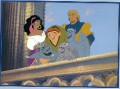 Disney Hunchback  Gold Seal Lithograph