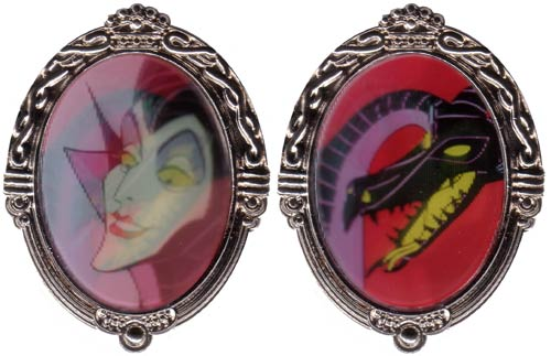 Disney  Lenticular Diva Pin - Maleficent/Dragon Pin/Pin