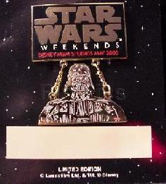 Disney MGM Star Wars Weekend Darth Vader dangle Pin/Pins