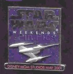 Disney MGM Star Wars Weekend naboo starfighter Pin/Pins