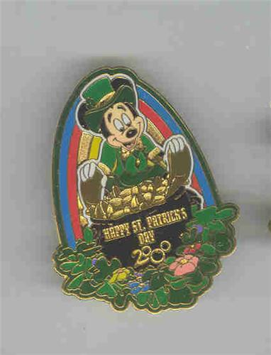 Disney Mickey Leprechaun St. Patrick??s Day pin/pin