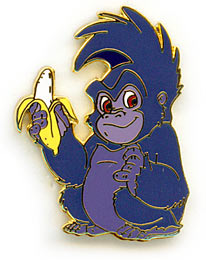 Disney Terk Gorilla  full body from Tarzan  Pin/Pins