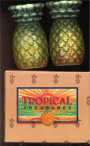 Tropical Treasures Pineapple Salt & Pepper