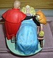 Disney Sleeping Beauty Villain rare Figurine