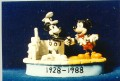 Disney Steamboat Willie meets Mickey Mouse Figurine