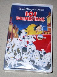 Disney 101 Dalmatians Video Movie Picture
