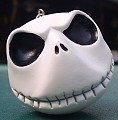 Nightmare Before Christmas - Jack head - grinning - ornament
