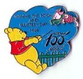 Disney 100 Years of Magic - Winnie the Pooh Blustery Day pin/pins