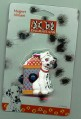 Disney 101 Dalmatians puppy dog with fire hydrant Magnet Aimant MOC