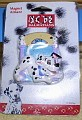 Disney 101 Dalmatians puppy with blue collar with dogs Magnet Aimant MOC