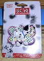 Disney 101 Dalmatians puppy dog Whizzer with Black Paw Magnet Aimant MOC