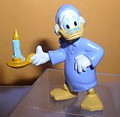 Disney Uncle Scrooge Ebenezer Scrooge Mc Duck Haunted pvc Figurine
