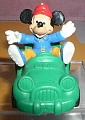 Disney Mickey Mouse Green convertible car movable  action figure West Germany Bully figurine