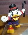 Disney Uncle Scrooge with his top hat and cane made in West Germany by Bully figurine