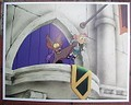 Disney Great Mouse Detective Villain Fidget the peg legged bat Lobby Card