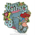Disney WDW - Cast Member Happy Mother's Day - Dumbo and Mrs Jumbo pin/pins