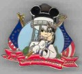 Disney - Goofy MGM Studios - Earful Tower Fourth of July 2000 -  pin/pins