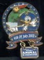 Disney Donald Duck WDW DAK  July  4th- Patriotic Animal Kingdom Pin/Pins