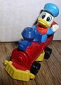 Disney Donald Duck Train engineer D1929 Die Cast Metal Wlat Disney Productions  Figurine