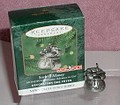 Monopoly Sack of Money made of pewter dated 2000 Hallmark Keepsake ornament