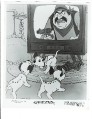 Disney 101 Dalmatians 3 puppies dogs at TV original Press Release Photo