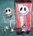 Nightmare Before Christmas  -Tim Burton Disney - Jack  head in hand -  Lamp