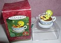 Tweety Looney Tunes Tea Cup Holiday Spa sculpted by Robert Chad ornament