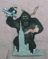 King Kong standing at the top of the Empire State Building in New York City  ornament