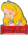 Disney Alice in Wonderland Cast Member coke Pin Pins