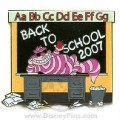 Disney Alice Wonderland Cheshire Cat WDW - Back to School  LE pin pins