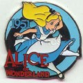 Disney Alice in Wonderland  pin pins