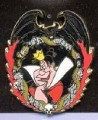 Disney Japan Alice in Wonderland Villain Queen of Hearts pin pins