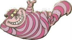 Disney Alice In Wonderland Cheshire Cat Lounging Around  Pin Pins