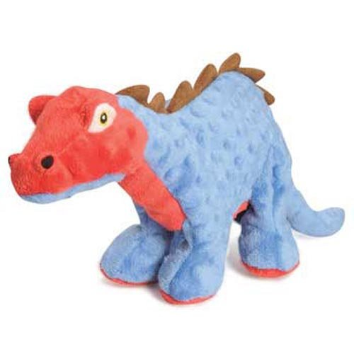 Spike the Stegosaurus - Tough mini chew toy for small dogs and puppies